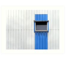 Container Window Art Print