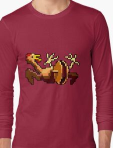 Rubber chicken with a pulley in the middle (Monkey Island) Long Sleeve T-Shirt