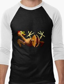 Rubber chicken with a pulley in the middle (Monkey Island) Men's Baseball ¾ T-Shirt