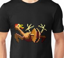 Rubber chicken with a pulley in the middle (Monkey Island) Unisex T-Shirt