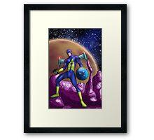 Captain Federation! Framed Print