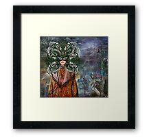 Mystical Adventures II ~ NiLhsa Eermat (art & poetry) Framed Print