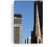 Skyscrapers Of Denver Canvas Print