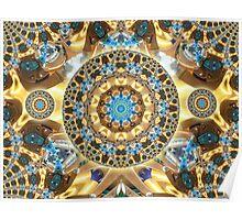 Computer Jewel Kaleidoscope 003 Poster