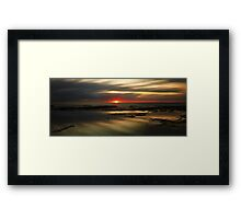 Bangalleys' Dawn Framed Print