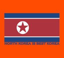 North Korea is Best Korea Kids Tee