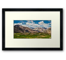 Nubra Valley-3/2011 Framed Print