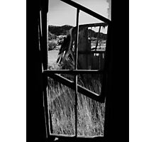tilted frame in cuervo overlook Photographic Print