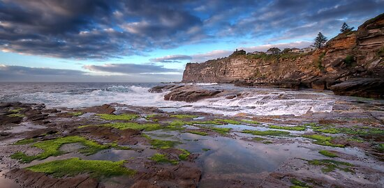 The Rock Shelf at Bangalley by Mark  Lucey