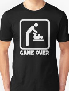 Game Over Daddy Funny T-Shirt