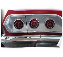 63 Chev Impala Poster