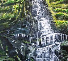 Waterfall by Linda Callaghan