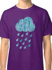 Watercolor Rain Cloud Classic T-Shirt