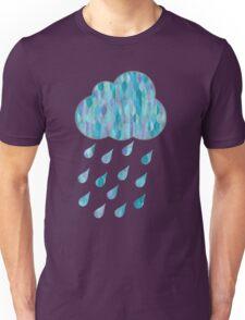 Watercolor Rain Cloud Unisex T-Shirt