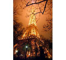 Dreamy Eiffel Tower, Paris Photographic Print