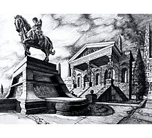 Temple of Perseus Photographic Print