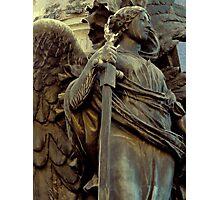 angel with sword Photographic Print