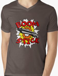 Boom Stick Mens V-Neck T-Shirt