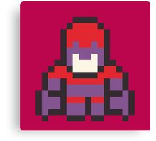 8-Bit Magneto Canvas Print