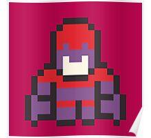 8-Bit Magneto Poster