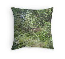 Colours of Sweet Creek Throw Pillow