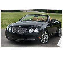 GTC Bentley - 6.0 Twin Turbo W12 ! Poster