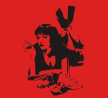 pulp fiction - Mia Wallace - Uma Thurman by D4RK0