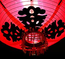 Modern Chinese Lantern by Stephen Mitchell