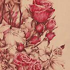 Flowers III by Mina Marković