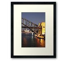 Sydney Harbour Icons Framed Print