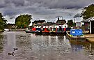 Norbury Junction, Shropshire Union Canal. by Darren Burroughs