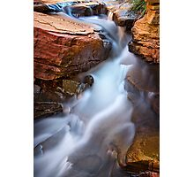 Small Falls Photographic Print