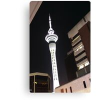Auckland Sky Tower Canvas Print