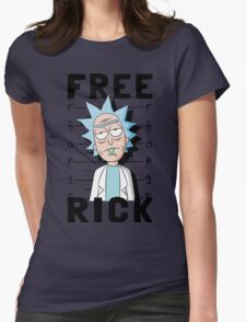 Free Rick Womens Fitted T-Shirt