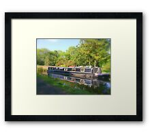 When the boat comes in!  Framed Print