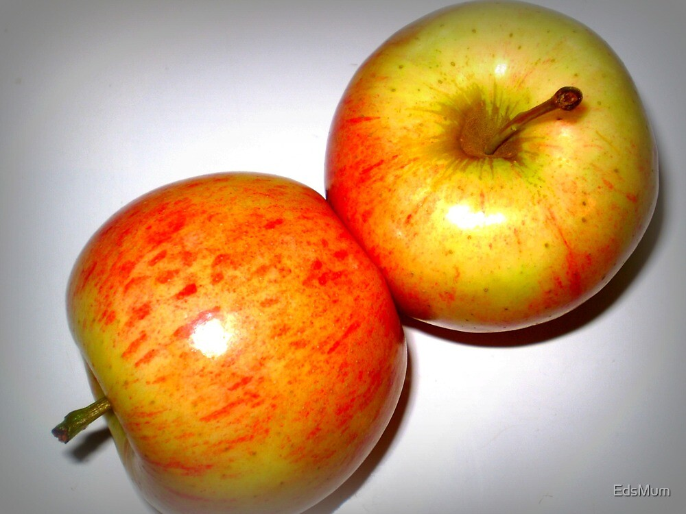 Two Delicious Apples by EdsMum