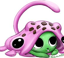 Frosch Exceed Baby Sticker by Slothbutter