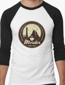 MORDOR COFFEE SHOP Men's Baseball ¾ T-Shirt