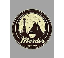 MORDOR COFFEE SHOP Photographic Print
