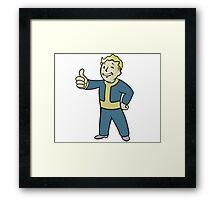 Fallout 4 - Vault Boy Framed Print