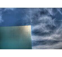 Blue on Blue Photographic Print