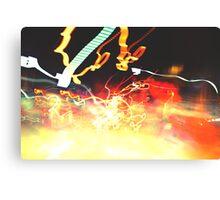 Explode II Canvas Print