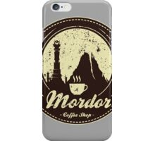 MORDOR COFFEE SHOP iPhone Case/Skin