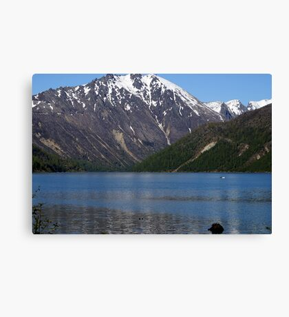 Cold Water Lake, Washington Canvas Print