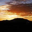 Sunset over Corralejo by João Figueiredo