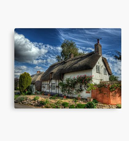 Wheelwrights Cottage - Winchester Canvas Print