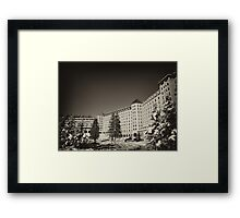 Fairmont Chateau at Lake Louise Framed Print