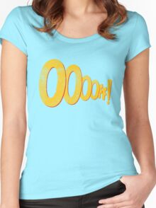 ooooff! Women's Fitted Scoop T-Shirt
