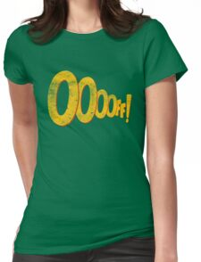 ooooff! Womens Fitted T-Shirt