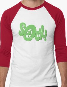 Sock! Men's Baseball ¾ T-Shirt